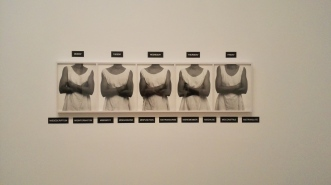 Lorna Simpson's 'Five day forcast'