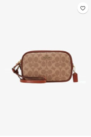 Coach Signature Crossbody Tan/ Chalk €136,95