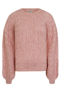 Joanie Clothing Logan Oversized Cable Knit Cardigan €32,24